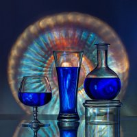 О синем цвете и игре света :: Irina-77 Владимировна