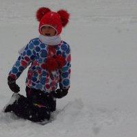 Детские радости зимой :: Андрей Лукьянов