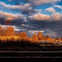 Облака на закате :: Анатолий Шулков