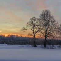 Морозный закат :: Екатерина дегтярева