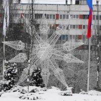 отдых после ночной работы новогодней иллюминации :: Михаил Жуковский