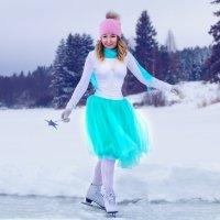 Зимой на коньках :: Вячеслав Ложкин