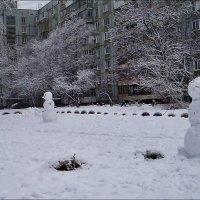 Три снеговика :: Нина Корешкова