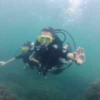 Отдых на море, Крым. Дайвинг. Подводная сьёмка-1. :: Руслан Грицунь
