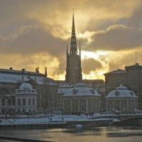 Церковь Риддархольмена – единственная монастырская средневековая церковь, сохранившаяся на территори :: Елена