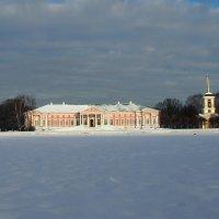 Зимний день в Кусково :: Надежда Бахолдина