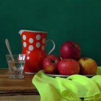 Вкусные яблоки :: Наталья (D.Nat@lia) Джикидзе (Берёзина)