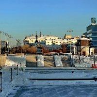 Плотина Городского пруда, Исторический сквер. :: Пётр Сесекин