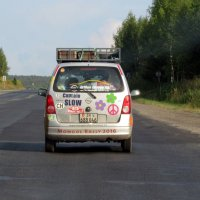 На дорогах России.... :: MaOla ***