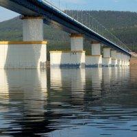 Мост через Ангару :: Сергей Шаврин