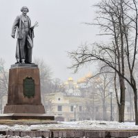 Москва. Памятник И. Е. Репину. :: В и т а л и й .... Л а б з о'в
