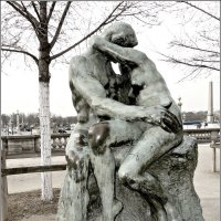 Роденовский поцелуй в Париже :: Galina Belle