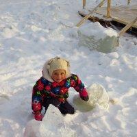О толщине льда на пруду накануне Крещения-2017 :: Андрей Лукьянов