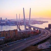 Золотой мост... вечерком) :: Арина
