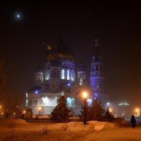 7 утра, туман, крещенье,храм :: Savayr