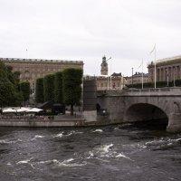 Окрестности королевского дворца в Стокгольме :: Александр Рябчиков