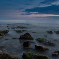 Вечер на высоком берегу :: Александр Грибакин