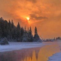 морозные закаты :: Александр