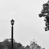 Набережная Рязанского кремля с видом на храм Преображения Спаса на Яру :: Иришка ***