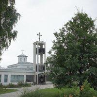 Троицкий храм и колокольня Линтульского монастыря :: Елена Павлова (Смолова)