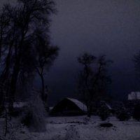 Огонек в ночи :: Анатолий Шулков
