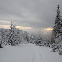 зима в горах 6 :: Константин Трапезников