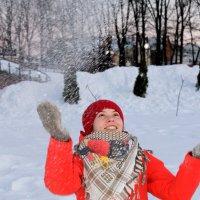 Снежный вихрь :: Анна Шишалова