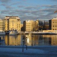 прекрасная погода в Стокгольме :: Елена