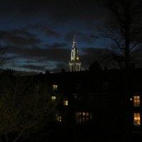 Башня на фоне ночного неба, Нидерланды :: Inna Vicente Rivas