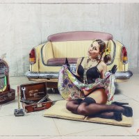из серии «в автомобиле только девушки» :: Александр Барденцев