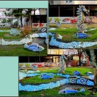 Декор на набережной Высокий берег :: Нина Бутко