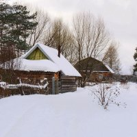 Белым снегом все тропинки замело... :: Павлова Татьяна Павлова