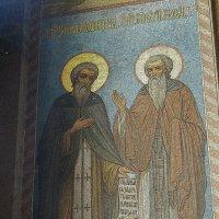 Лики Сятых на стенах Храма Ново-Афонского Монастыря... :: Дмитрий Петренко