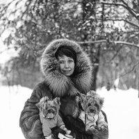 С собачками :: Евгений Золотаев