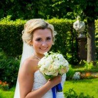 невеста с букетом :: Егор Чеботаренко