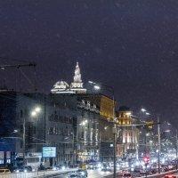 Прогулка по новогодней Москве :: Владимир Безбородов