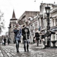 По проспекту под гармонь :: Андрей Селиванов