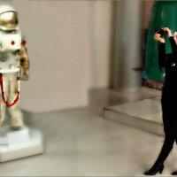 Космонавт и девушка :: Кай-8 (Ярослав) Забелин