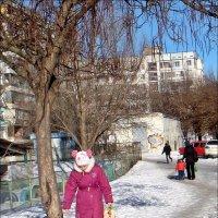 Грустная девочка в солнечный день :: Нина Корешкова