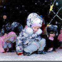 Снежинка куда то упала, не могу найти ...) :: Юрий Ефимов