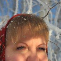 портрет зимой :: Дмитрий Денисов