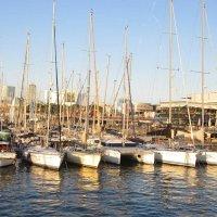 Стоянка лодок в порту Барселоны :: Tamara