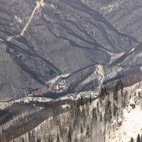 Графика гор. :: Наталья Соколова