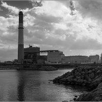 Электростанция в Тель Авиве. :: Lmark
