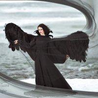Черный ангел :: Маргарита Гусева