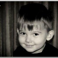 Черноокий блондинчик Илюшка. :: Anatol Livtsov