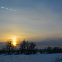 На закате. :: Валерий Медведев