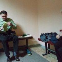В раздевалке :: Александр Алексеев