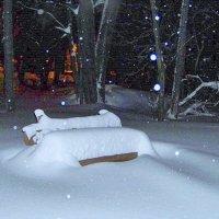 Снегопад... :: Miko Baltiyskiy