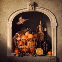 Корзина с апельсинами :: Татьяна Карачкова